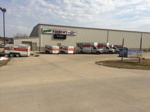 U Haul Trucks and trailers