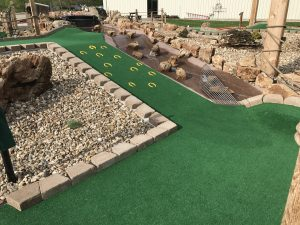 Hole 12 at Outback Mini Golf
