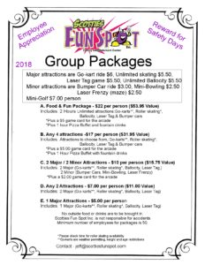 Group package 18